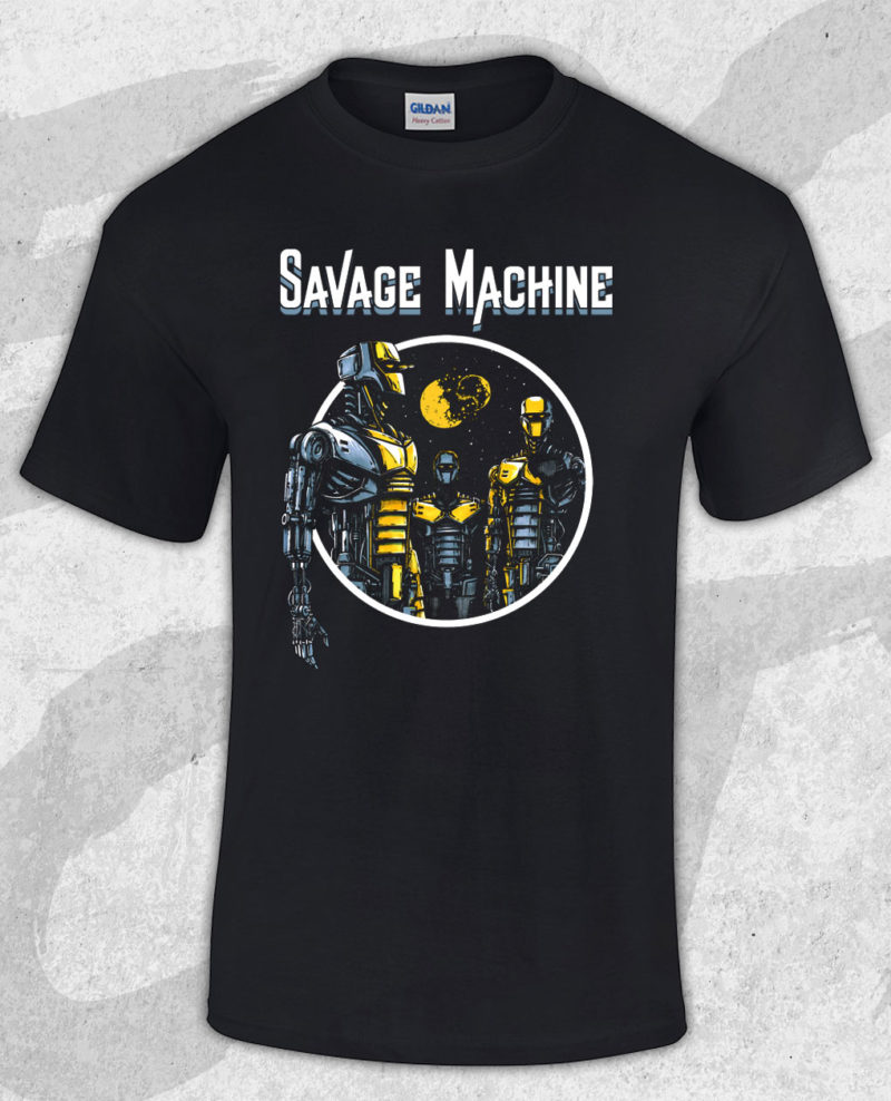 Savage Machine - Robots T-shirt (Guys)