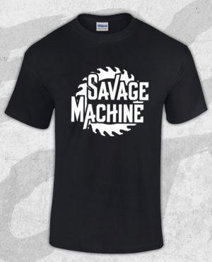 savage-machine-saw-tshirt-merch-city