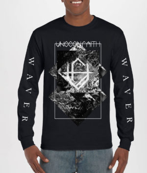 Unseen Faith: Black Long Sleeve T-shirt