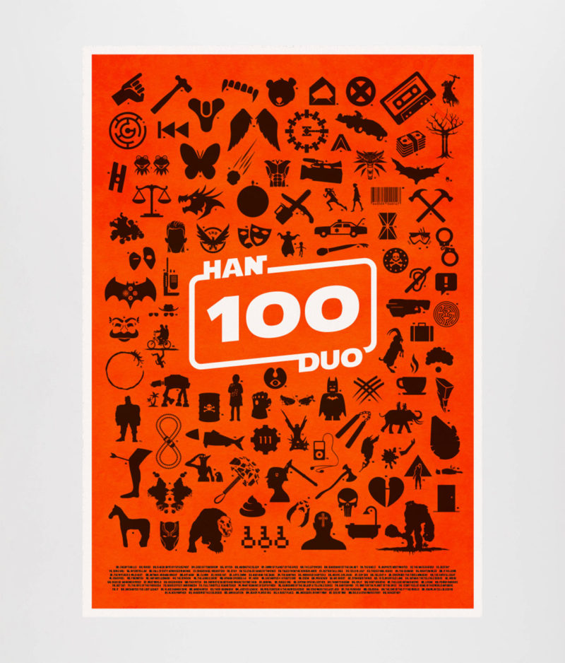 Han Duo - Episode 100 Plakat