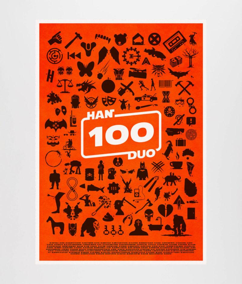 Han Duo - Episode 100 Plakat