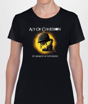 Act of Cohesion - Six Degrees of Subversion T-shirt (Girls)