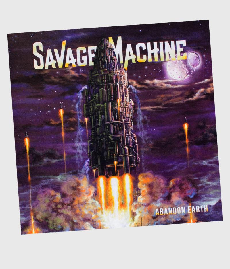 Savage Machine - Abandon Earth (Download)