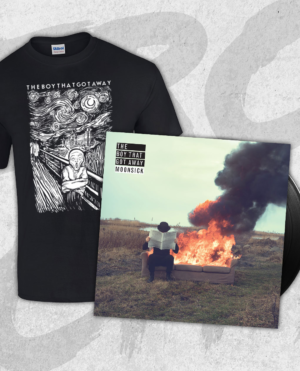 The Boy That Got Away - Moonsick vinyl & T-shirt BUNDLE
