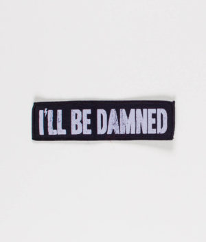 ill-be-damned-logo-patch