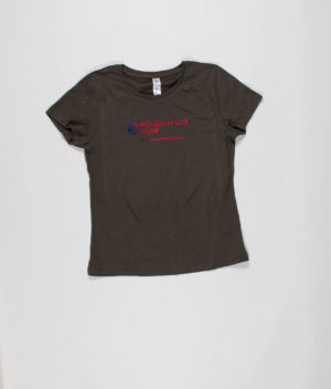 women-in-live-music-olive-t-shirt