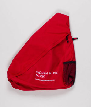 women-in-live-music-red-shoulder-bag