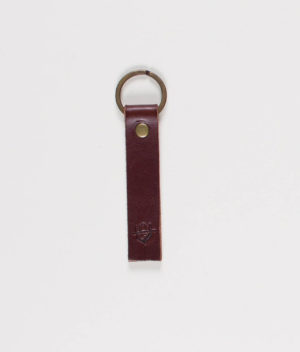 unseen-faith-brown-leather-keychain