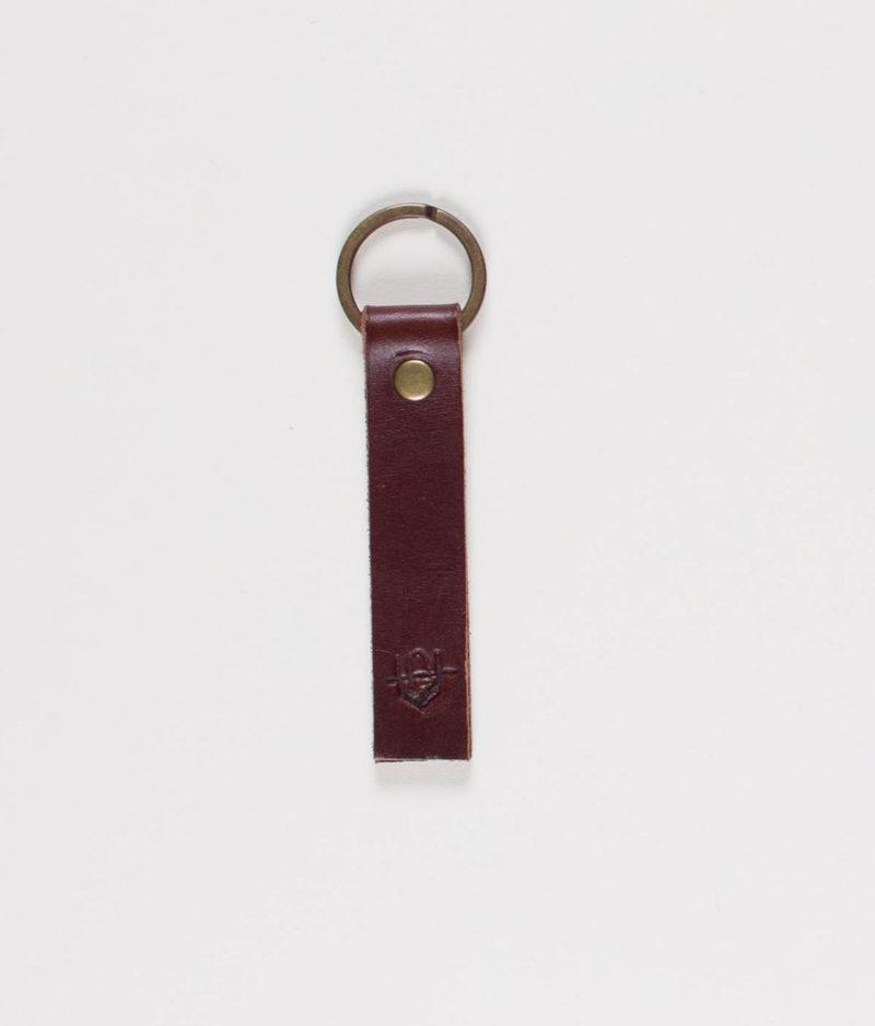 unseen-faith-brown-leather-keychain