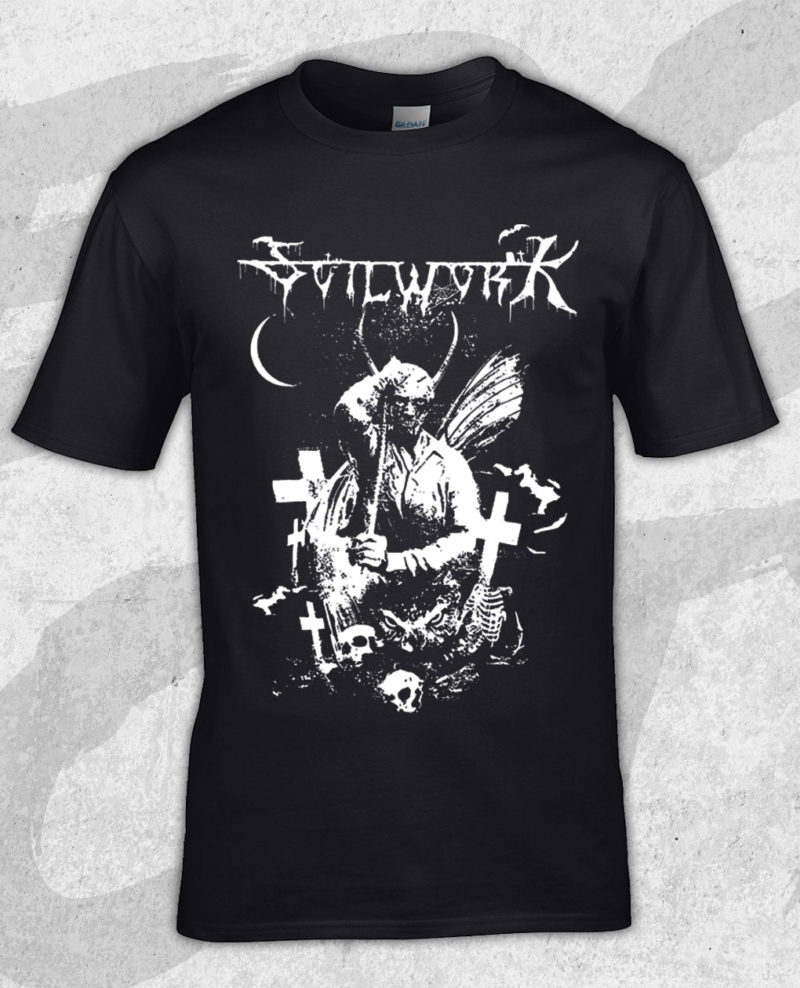 soilwork-black-metal-logo-t-shirt