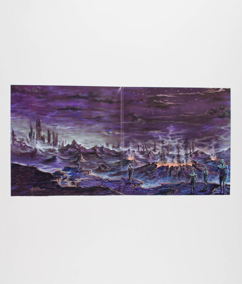 savage-machine-abandon-earth-vinyl-open