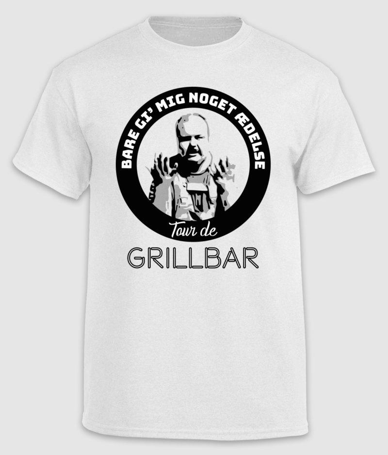 tour de grillbar-tshirt-giv mig noget 'delse-white-front