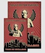 tour de grillbar-poster-salat er for pussies-a2 a3