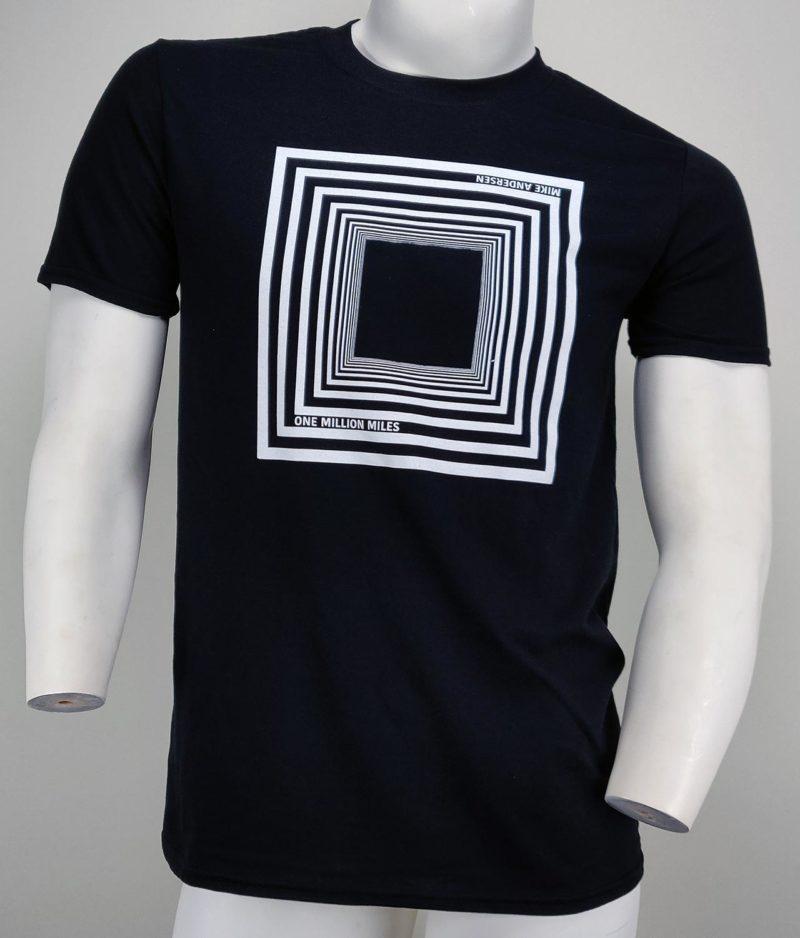 Mike Andersen - One Million Miles T-shirt - Black