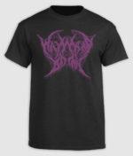 Wayward Dawn - Black and Purple logo T-shirt
