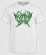 Wayward Dawn - White and Green logo T-shirt