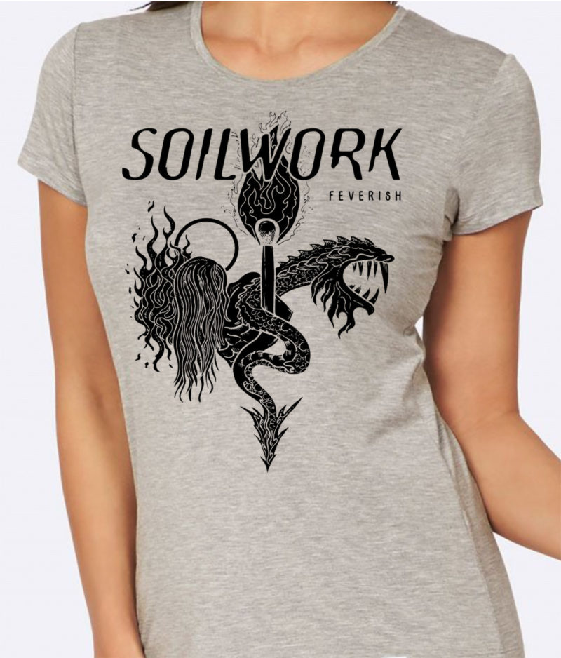 soilwork-tshirt girlie feverish gray