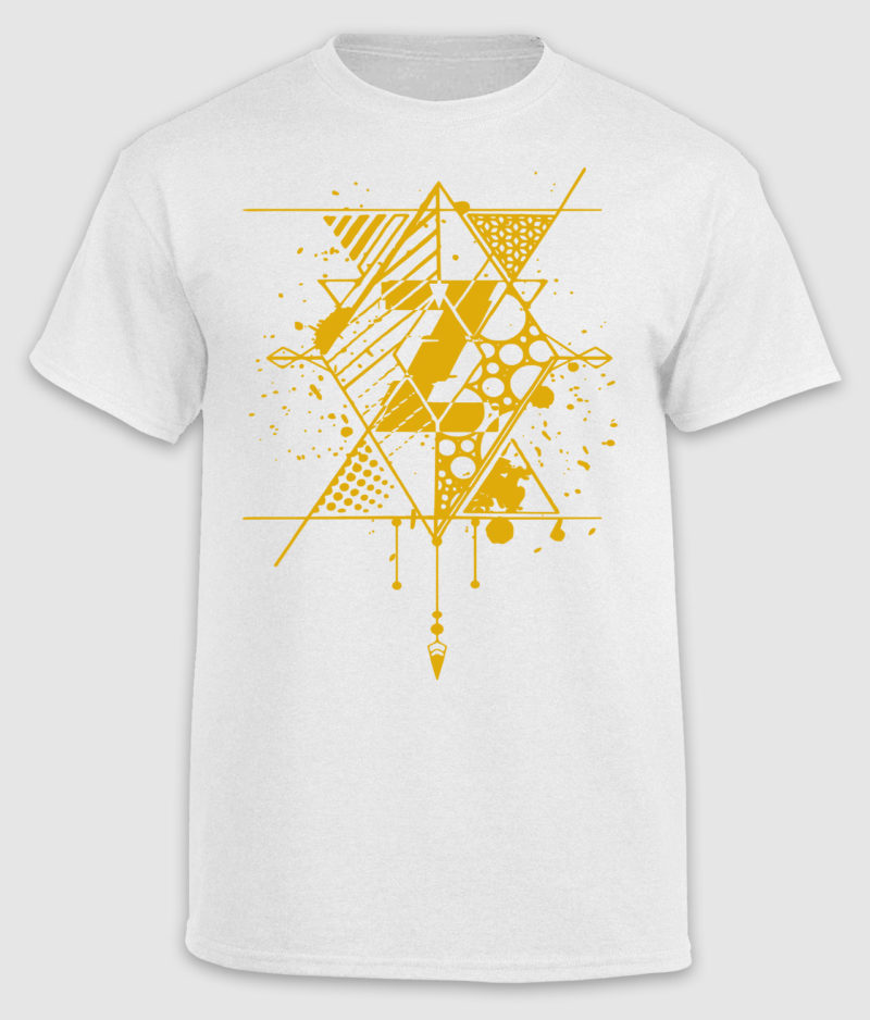 "Zagi - ""Z"" T-shirt - Gold"