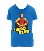 comkean-herokean tshirt blue
