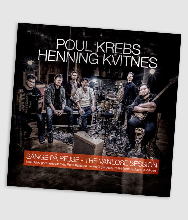 Poul Krebs & Henning Kvitnes - Sange På Rejse - The Vanlose Session CD