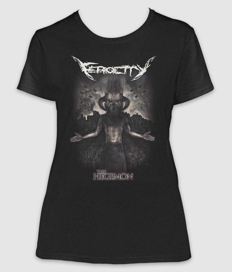 ferocity-tshirt-the hegemon-girlie-black-front