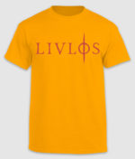 livløs-tshirt-logo-yellow-front