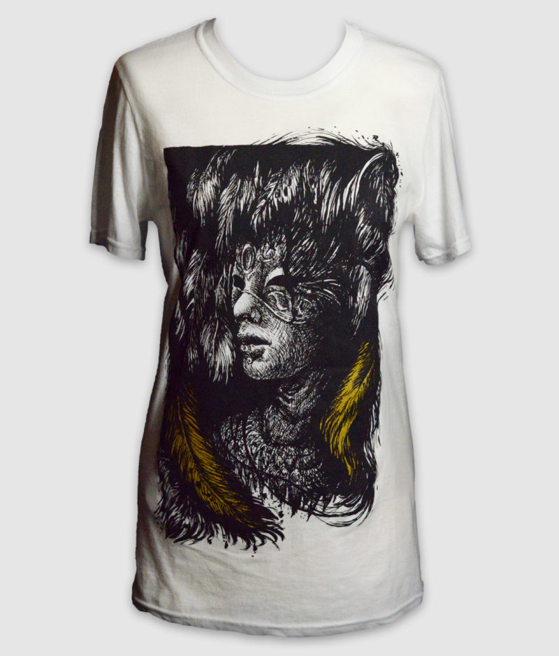 ethereal kingdoms-ashes-within-white-front-t-shirt