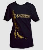 ethereal kingdoms-silent-dance-black-front-t-shirt