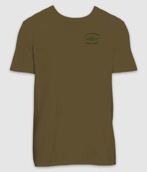 fladskærmskriger-tshirt-british khaki-100mm-mockup