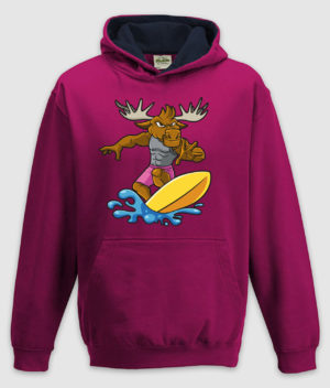 dme-surf elg-hoodie-jh003j-hot pink french navy-mockup