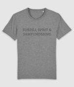 samfundssind-tshirt-creator-surdej sprit samfundssind-mid heather grey-front