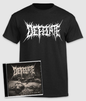 defecate-bundle-beating with disgust-cd-tshirt