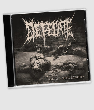 defecate-cd-beating with disgust-front