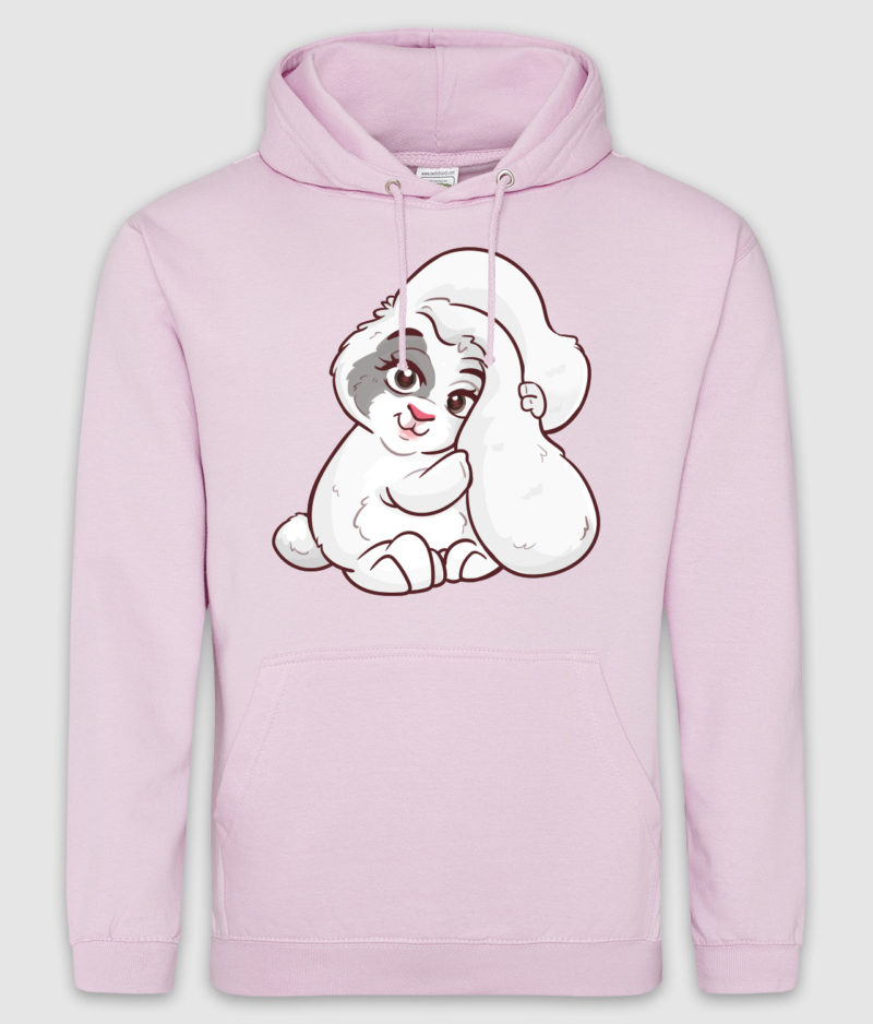 kaytrayne-hoodie-bunny-baby pink-front