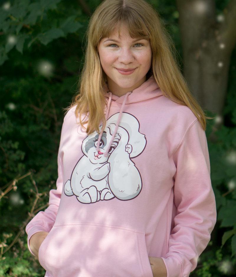 kaytrayne-hoodie-bunny-baby pink-model