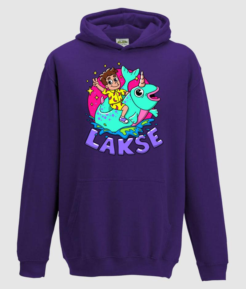 lakserytteren-hoodie-purple-lilla-tekst