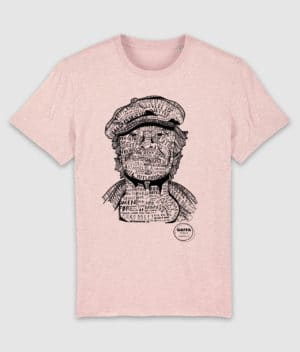 gaffa-tshirt-heroes-kim-cream heather pink-mockup