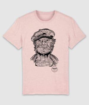 gaffa-tshirt-heroes-kim-cream heather pink-mockup