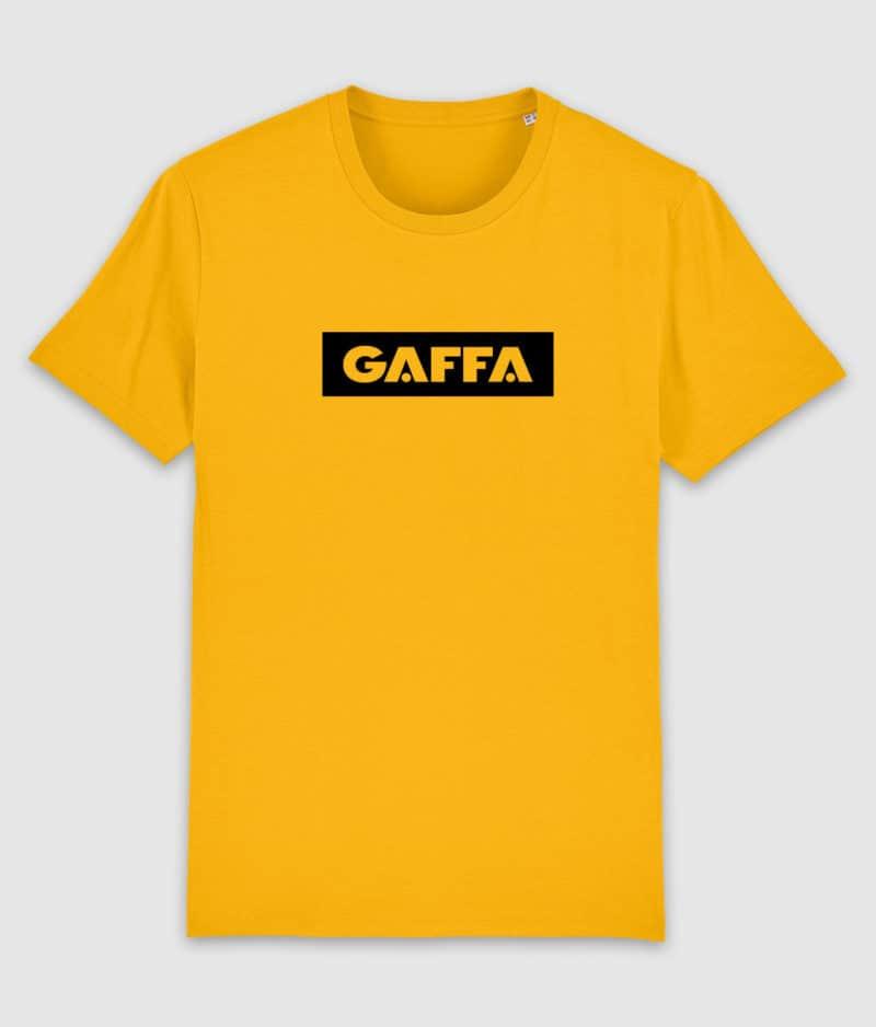 gaffa-tshirt-logo-spectral yellow-mockup