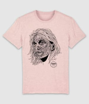 gaffa-tshirt-heroes-kurt-cream heather pink-mockup