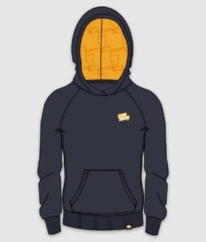 comkean-progamer-hoodie-navy-front