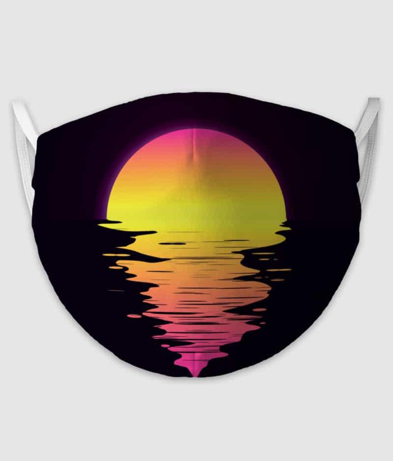 no black shirts-mundbind-sunset