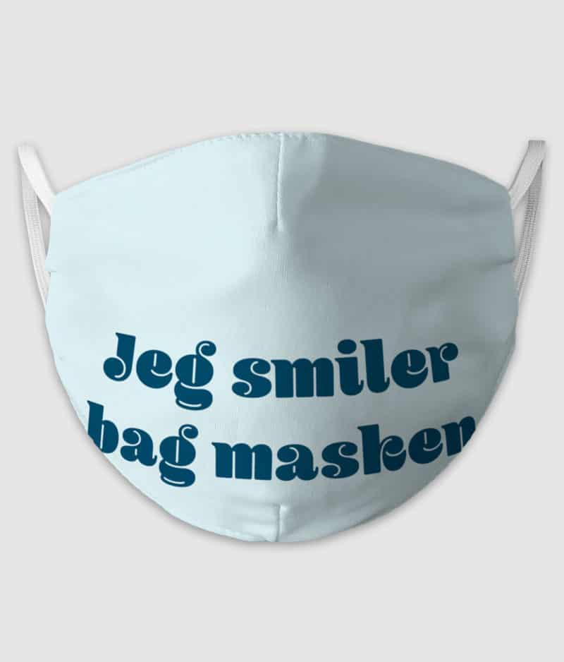 no black shirts-mundbind-smiler bag masken