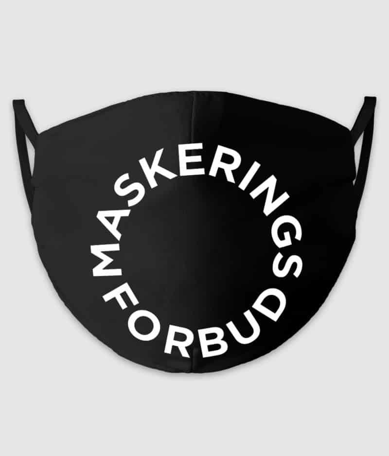 no black shirts-mundbind-maskeringsforbud