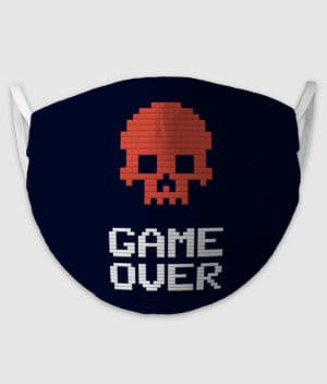 no black shirts-mundbind-game over