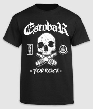 escobar-tshirt-you rock-black-front