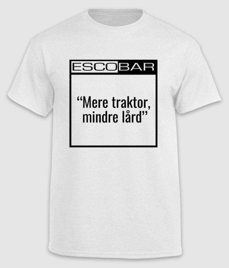 escobar-tshirt-citat-white-traktor-front