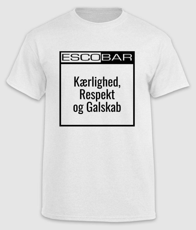 escobar-tshirt-citat-white-respekt-front