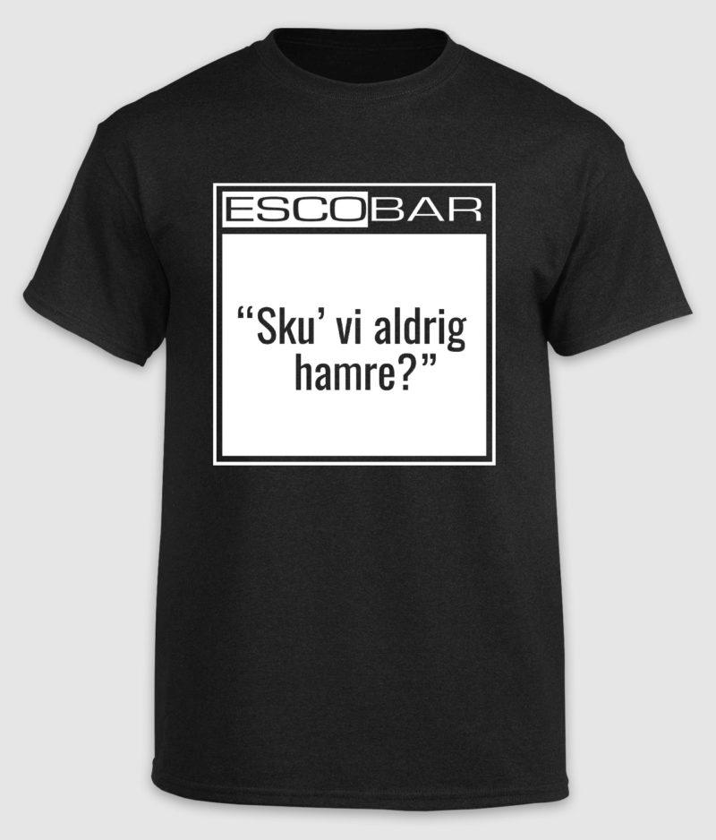 escobar-tshirt-citat-black-hamre-front