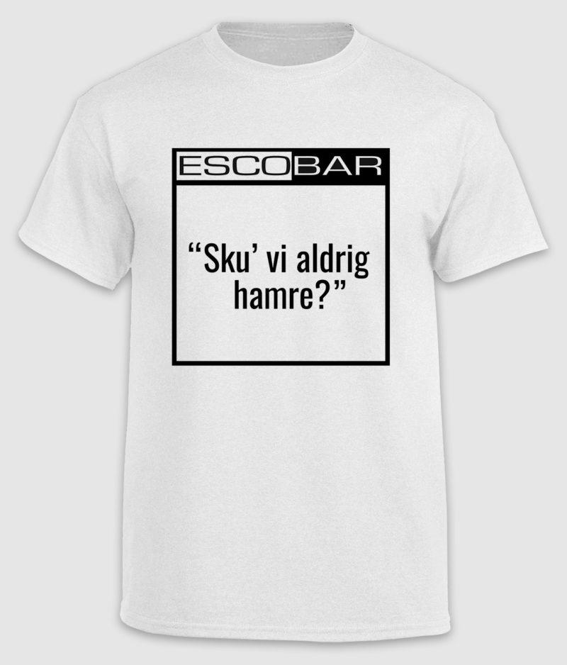 escobar-tshirt-citat-white-hamre-front